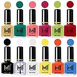 #6: Mi Fashion Non-Toxic Premium Lacquer Extra Shine Nail Polish Shades Of 12 Pcs