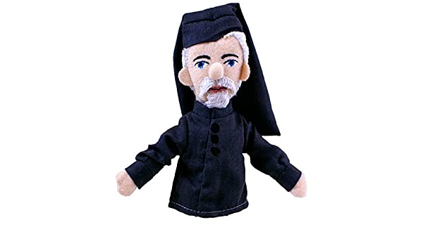 Unemployed Philosophers Guild Geoffrey Chaucer Finger Puppet and Refrigerator Magnet for Kids and Adults