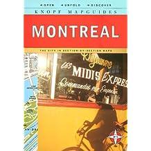 Knopf MapGuide: Montreal (Knopf Mapguides)
