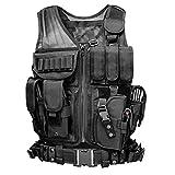 Viktion - Gilet tactique Veste tactique Fournitures police et les militaires, engins tactiques, équipement de plein air pour camping...