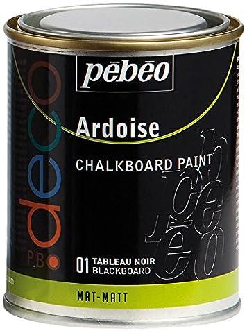 Tableau Ardoise De Cuisine - Pébéo 093501 Déco Acrylique Ardoise 1 Boîte