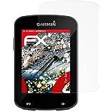 3 x atFoliX Anti-casse Protecteur d'écran Garmin Edge 820 / Explore 820 Anti-choc Film Protecteur - FX-Shock-Antireflex