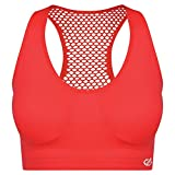 1cabb7da76 Dare 2b Damen Commence Quick Drying Racer Back Active Gym BH, Fiery Coral,  XS