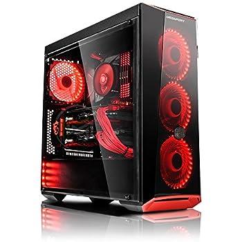 megaport super m ga pack unit centrale pc gamer complet intel core i7 7700 ecran led 24. Black Bedroom Furniture Sets. Home Design Ideas