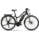 Haibike E-Bike SDURO Trekking 6.0 Damen 500Wh 20-G XT 18 HB YWC Black/Green/Titanium Medium