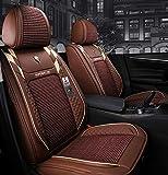 Housse de siège de voiture d'été ensemble en cuir/glace soie Super...