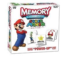 Memory Challenge Super Mario Nintendo Game