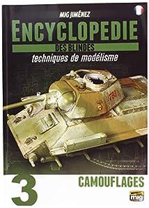 AMMO MIG-6172 - Enciclopedia de técnicas de Modelado de Armadura Vol. 3 - Camuflaje Francés
