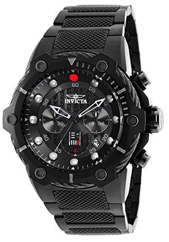 Invicta 26207 Star Wars - Darth Vader Reloj para Hombre acero inoxidable Cuarzo Esfera negro