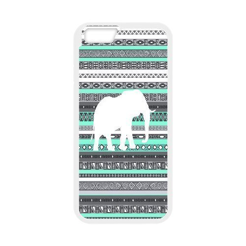 Custom New Cover Case for Iphone6 4.7, Colored Elephant Phone Case - HL-698010