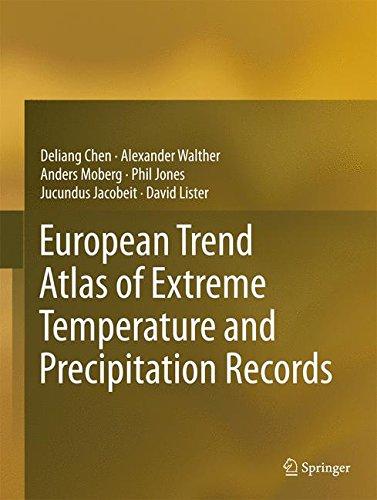 European Trend Atlas of Extreme Temperature and Precipitation Records