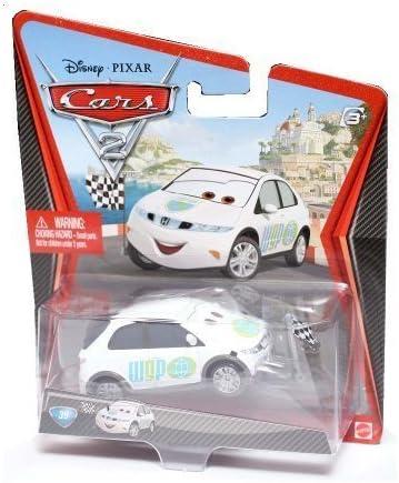 Disney Pixar Cars 2 Movie Movie Movie Die-Cast No. 39 Erik Laneley (Race Starter) [1:55 Scale] by Mattel (English Femmeual) | Structurels élégantes  9f988f