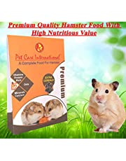 Pet Care International (PCI) Food for Hamster, A Complete and Balanced Diet with Rich in Protein, Vitamins, Minerals & Calcium (Bonus: Extra Cereals & Alfalfa) (600grm)