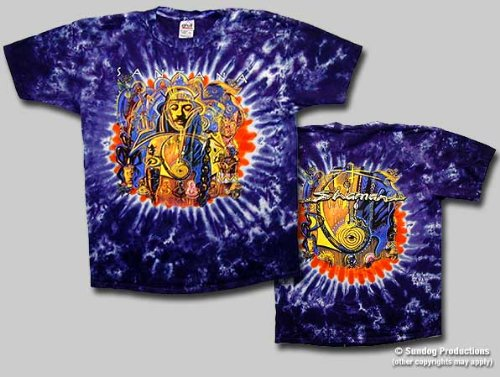 T-Shirts Homme SANTANA Shaman Large - import direct USA