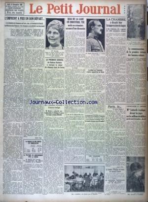 PETIT JOURNAL EDITION DE PARIS (LE) [No 22582] du 13/11/1924