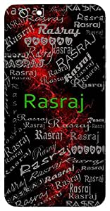 Rasraj (King Of Liquids ( Mercury -Element ), Romance ( Shringar Ras)) Name & Sign Printed All over customize & Personalized!! Protective back cover for your Smart Phone : HTC Desire 820