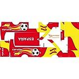 Stickers Adhesivos de Playmyplanet Fútbol España Compatibles con Playmobil Bus 5106, 5025, 4419, 5603 Y 3169