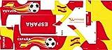 Stickers Adhesivos de Playmyplanet Fútbol España Compatibles con...