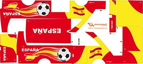 Stickers Adhesivos Playmyplanet Fútbol España Compatibles