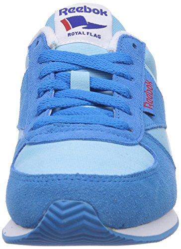 Reebok - Royal Jogger Classique, Sneakers Da Donna Blu (energy Blue / Bluepool / Wht / Matteslvr / Red Rush)