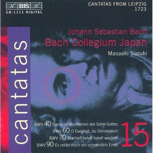 Wachet! betet! betet! wachet!, BWV 70: Recitative with accompaniment: Ach, soll nicht dieser grosse Tag (Bass)