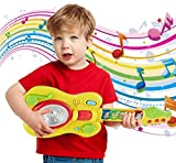 Popsugar Musical Guitar with Motion Sensor Play for Kids