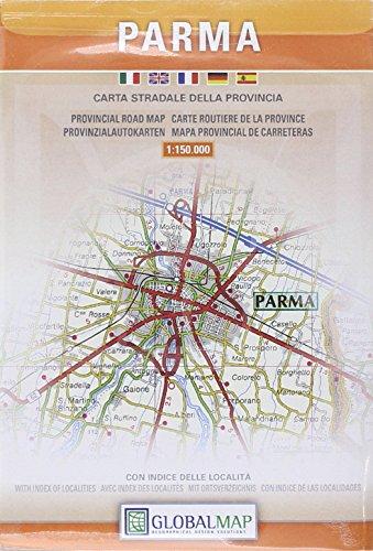 Parma 1:150.000 (Carte stradali) por Litografia Artistica Cartografica (LAC)