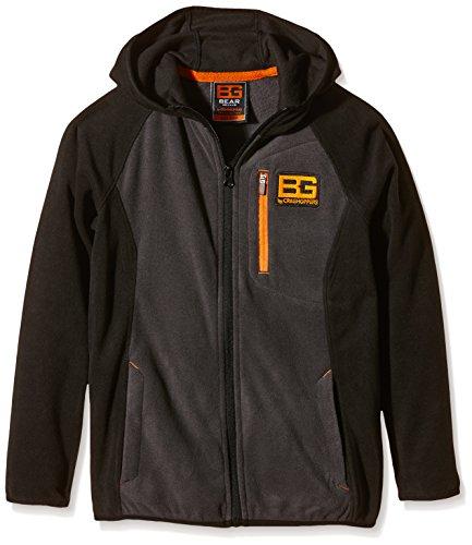 Bear Grylls Kid's Fleece Jacket grau Schwarz - Black Pepper/Schwarz Size 5-6 -