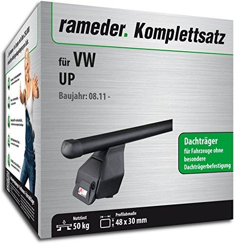 Rameder Komplettsatz, Dachträger Tema für VW UP (118788-09734-5)