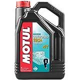 MOTUL - 106354/74 : Aceite lubricante motores nautica motos agua fueraborda OUTBOARD TECH 4T 10W40 5 L