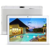 Kivors Tablette Tactile 3G 9.6 Pouces -Android 5.1 - 1G RAM+16 Go ROM - 800*1280 HD - Double Carte SIM - Double Caméra - Bluetooth - Wifi pour enfants adults (Argent)
