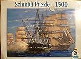 Schmidt Puzzle 1500 Teile Segelschiffe
