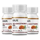 INLIFE Seabuckthorn Seed Oil,30 Veg Caps...