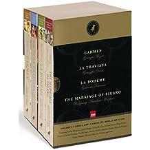 Black Dog Opera Library Box Set: Includes La Bohème, Carmen, La Traviata and The Marriage of Figaro