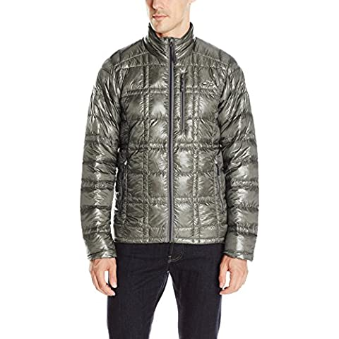 Men' s filamento Jacket, Uomo, peltro, XL