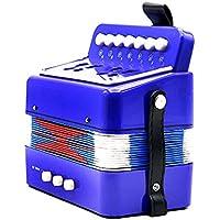 ammoon Mini infantil Acordeón 7-Key 2bajo pequeño herramienta Musical Rhythm Band Juguete