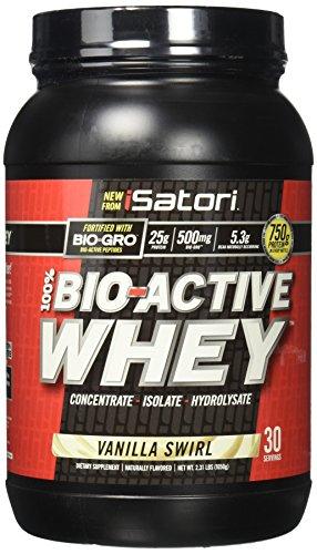 ISATORI Bio Active Whey 1,050 kg - vaniglia - 51pp3gANoTL