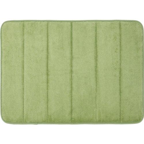 Nalmatoionme scendibagno in memory foam 43,2x 61cm verde