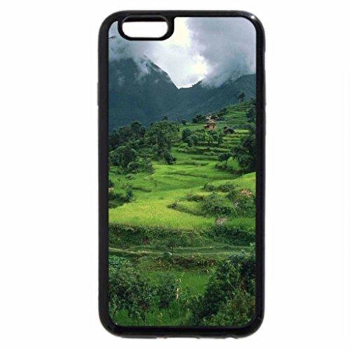 iPhone 6S / iPhone 6 Case (Black) Num Village Arun River Region Nepal