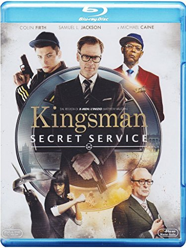 Bild von Kingsman: secret service [Blu-ray] [IT Import]