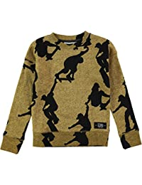 f27f1f876b862 Molo Milton Boys Long Sleeve Skater Sweatshirt Jumper - 100% Cotton