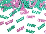 SiDeSo® Konfetti Streudeko Babyparty Kinder Geburt Geburtstag (15g Baby)