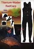 Titanium RedCarp® Neopren-Wathose Behr - Größe 43/44