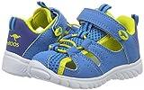 KangaROOS Unisex-Kinder Rock Lite II Geschlossene Sandalen, Blau (Blue/Acid Yellow), 26 EU - 5