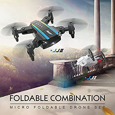 Studyset RC Drone Quadcopters 2.4G 4CH 6Axis Gyro Combo Kit Mini Drone JJ1 JJ2 RC Drone Foldable RC Helicopter JJR/C H345 JJRC Drone