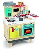 Smoby 7600311901 - Cucina In Legno Con 22 Accessori, 67 x 33 x 82 cm