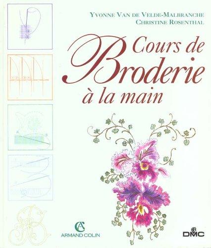 COURS DE BRODERIE A LA MAIN