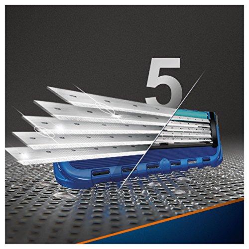 Gillette Männer Fusion5 ProGlide Rasierklingen, 1er Pack (1 x 8 Stück)