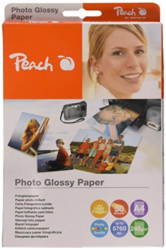 Carta fotografica Peach, A4, 240 gsm, 50 fogli,