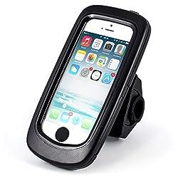 Arendo Fahrradhalterung für iPhone 5/5S - ideal geeignet für die nächste Radtour oder andere Outdoor-Aktivitäten! Mit der hochwertigen Arendo Fahrradhalterung für Ihr iPhone 5/5S schützen Sie Ihr iPhone bestmöglich auf Ihrer nächsten Radtour. S...